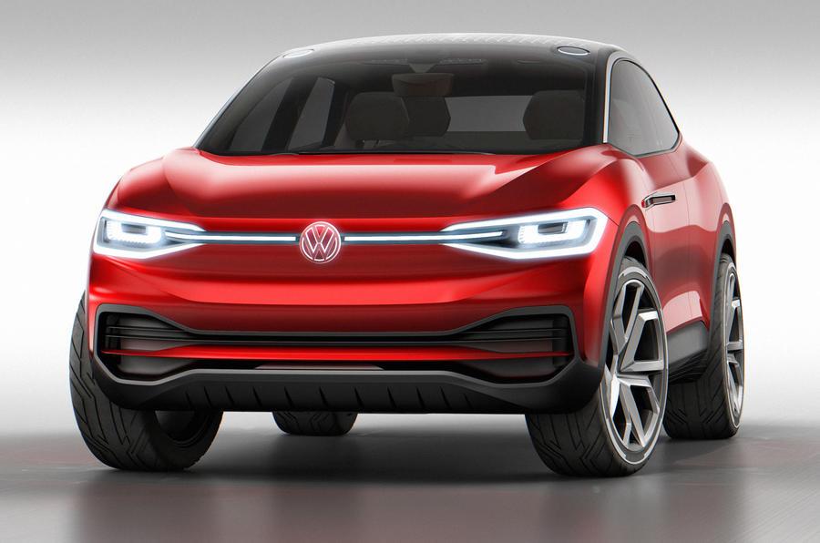 Volkswagen ID Crozz concept front