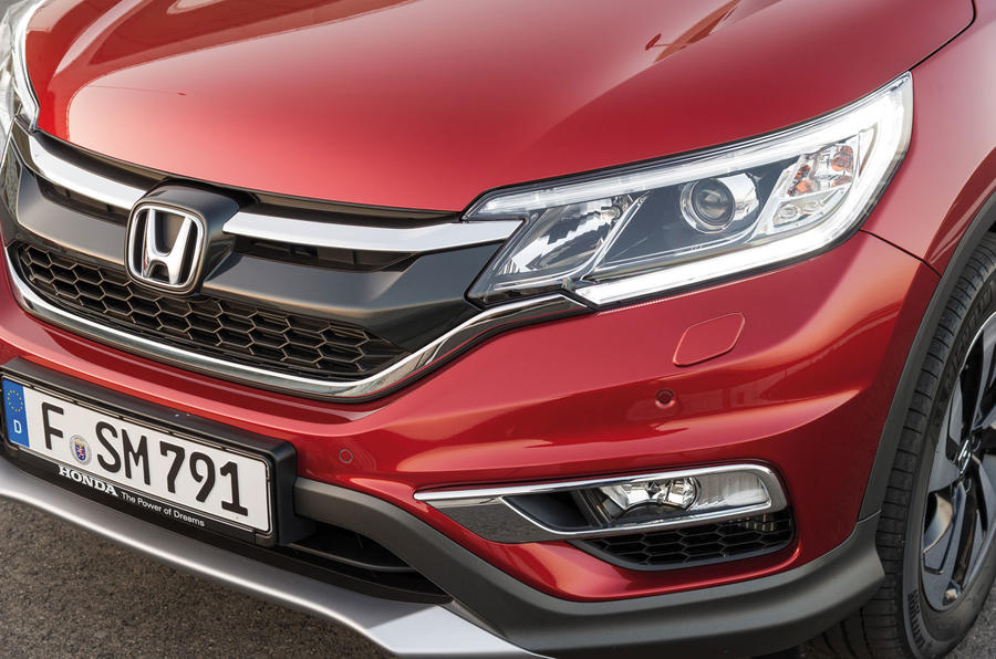 Honda CR-V front end