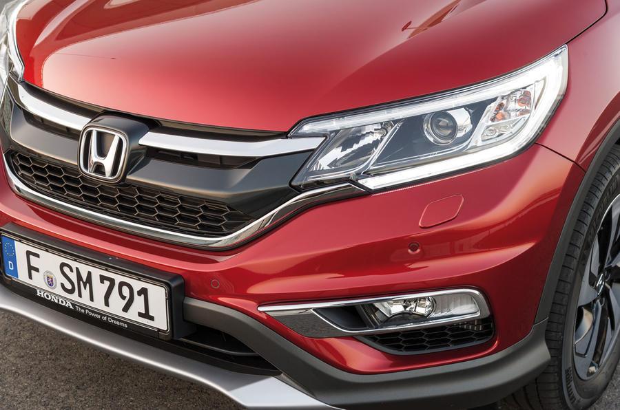 Honda CR-V front end