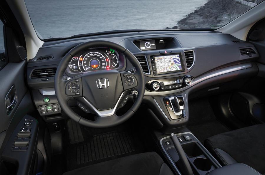 Honda CR-V dashboard