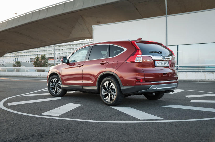 Honda CR-V EX rear