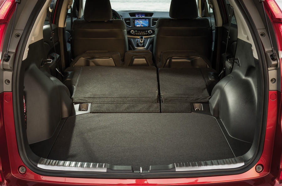 Honda CR-V extended boot space
