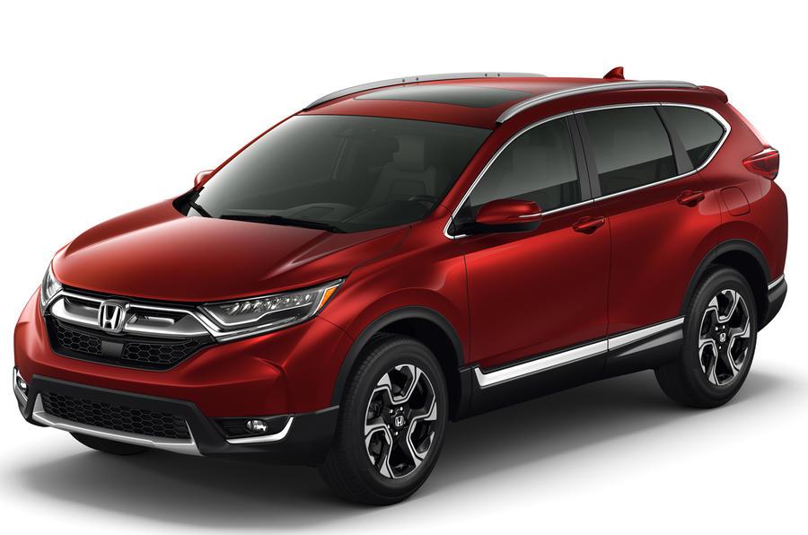 New Honda Cr V Revealed But Uk Sales On Hold Until Late 2017 Autocar