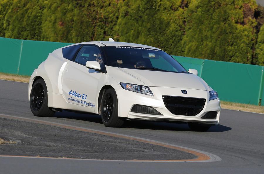 Honda Boss Backs All Electric Sports Car