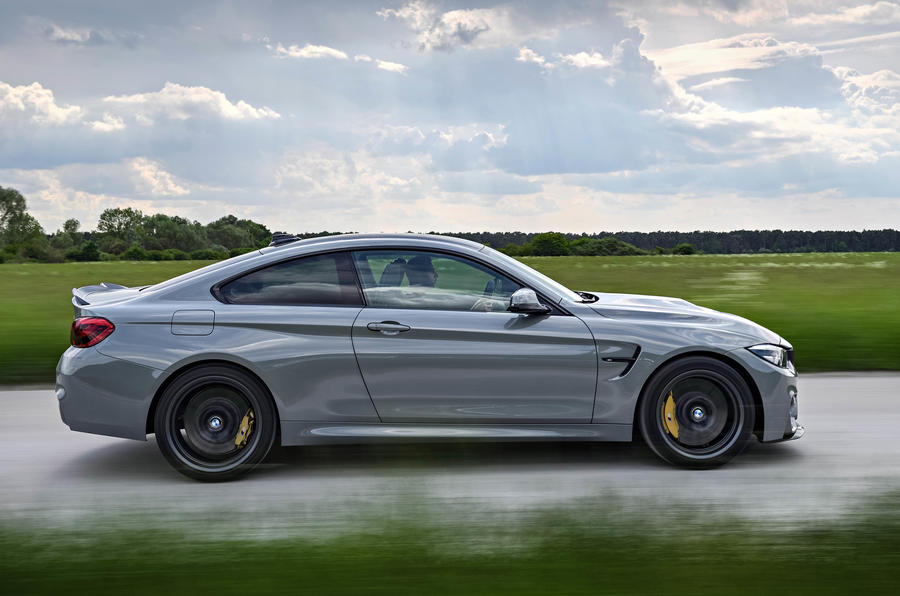 BMW M4 CS side profile