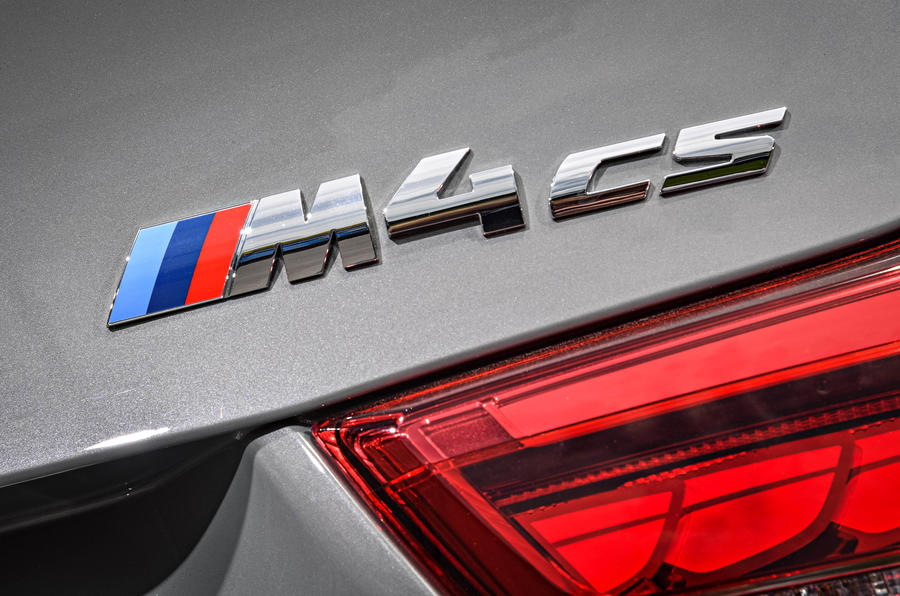 BMW M4 CS badging
