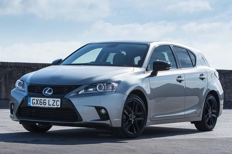 lexus ct 200h sport added to model range  autocar