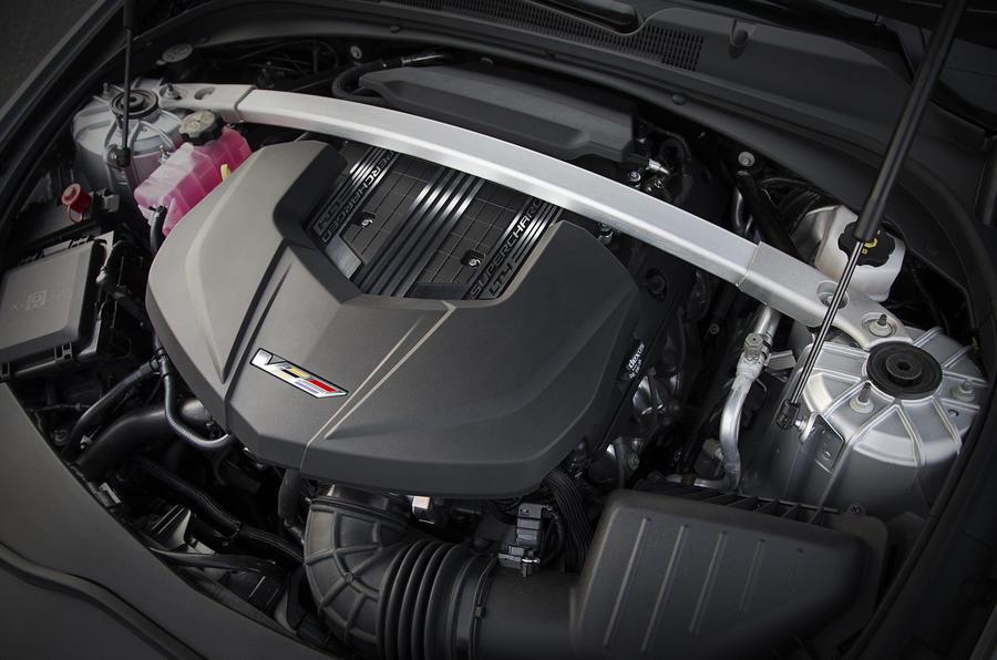 6.2-litre V8 Cadillac CTS-V engine