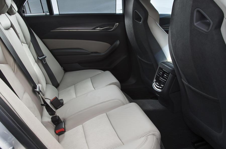 Cadillac CTS-V rear seats
