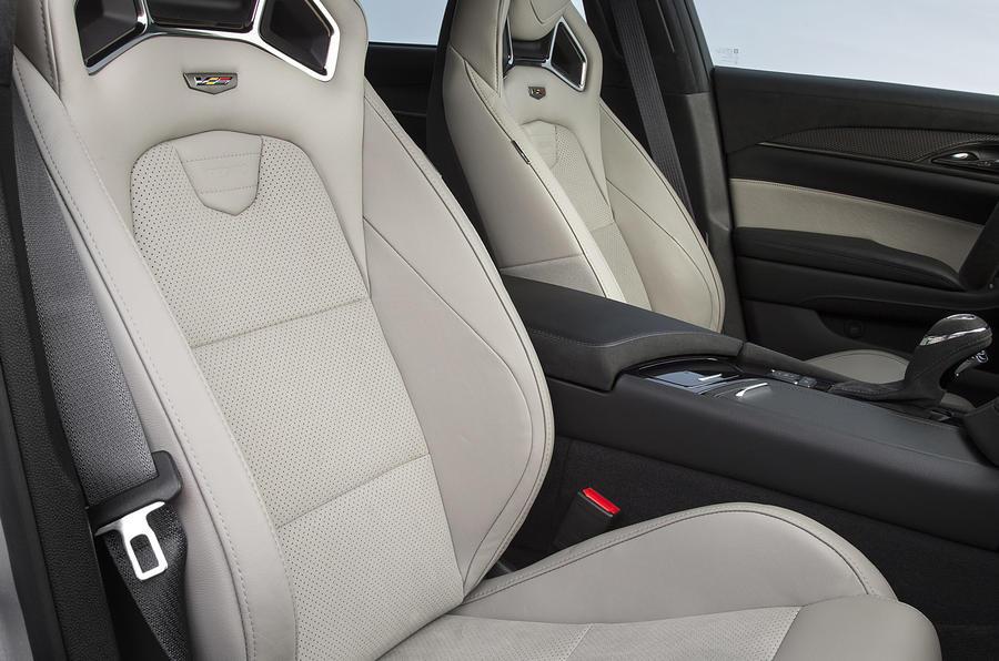 Cadillac CTS-V front seats