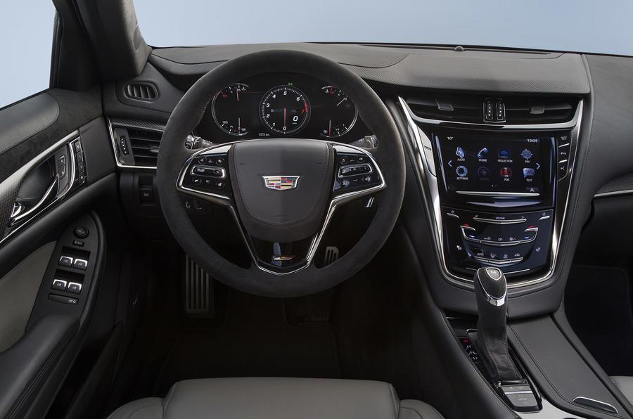 Cadillac CTS-V dashboard