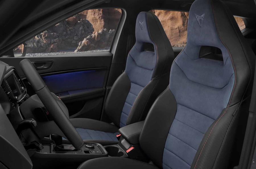 Cupra Ateca Limited Edition seats