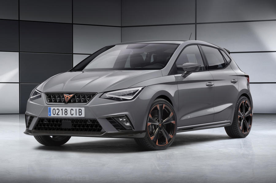Cupra Ibiza concept previews future production hot hatch