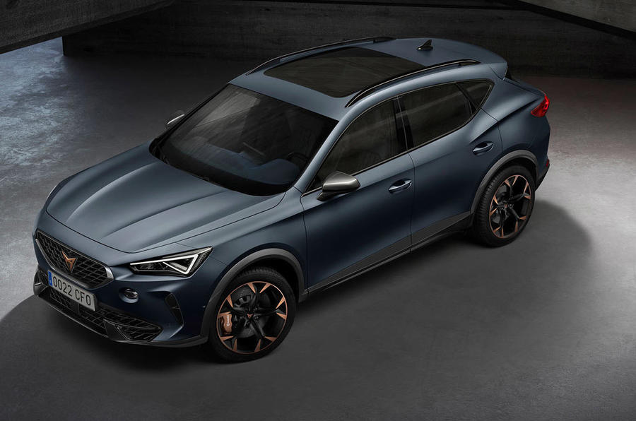 2020 Cupra Formentor - static front 3/4