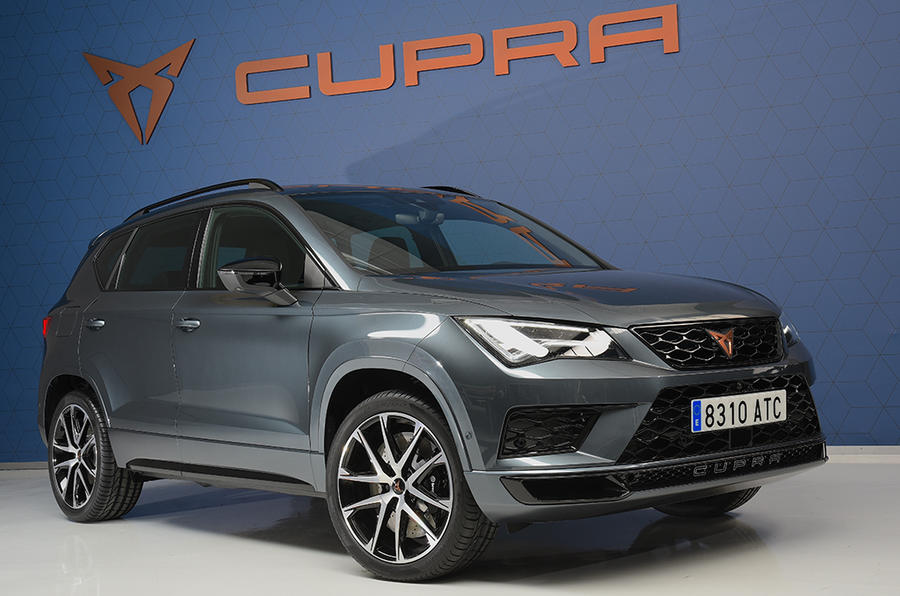 new cupra ateca pricing announced for 296bhp suv autocar. Black Bedroom Furniture Sets. Home Design Ideas