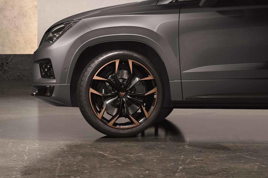 Cupra Ateca Limited Edition wheels