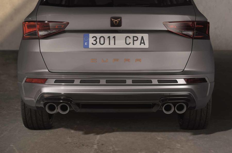 Cupra Ateca Limited Edition bumper