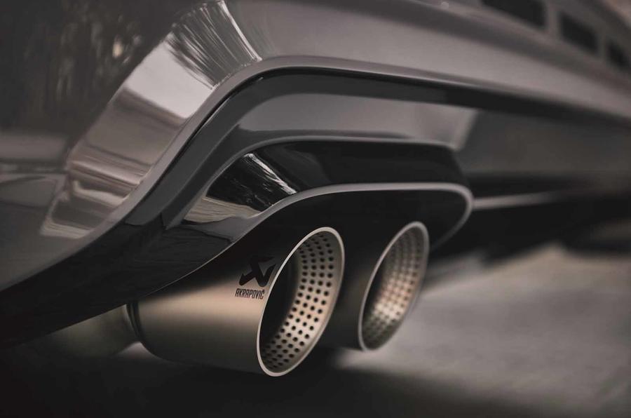 Cupra Ateca Limited Edition exhaust