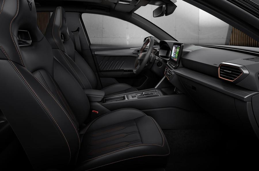 Cupra Leon eHybrid hatch official press images - interior