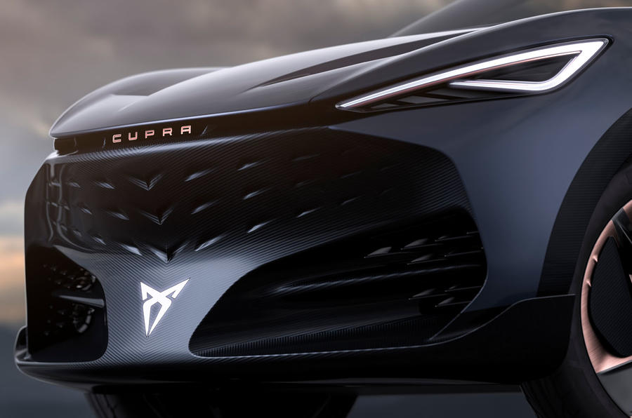 2019 Cupra Tavascan concept - front end