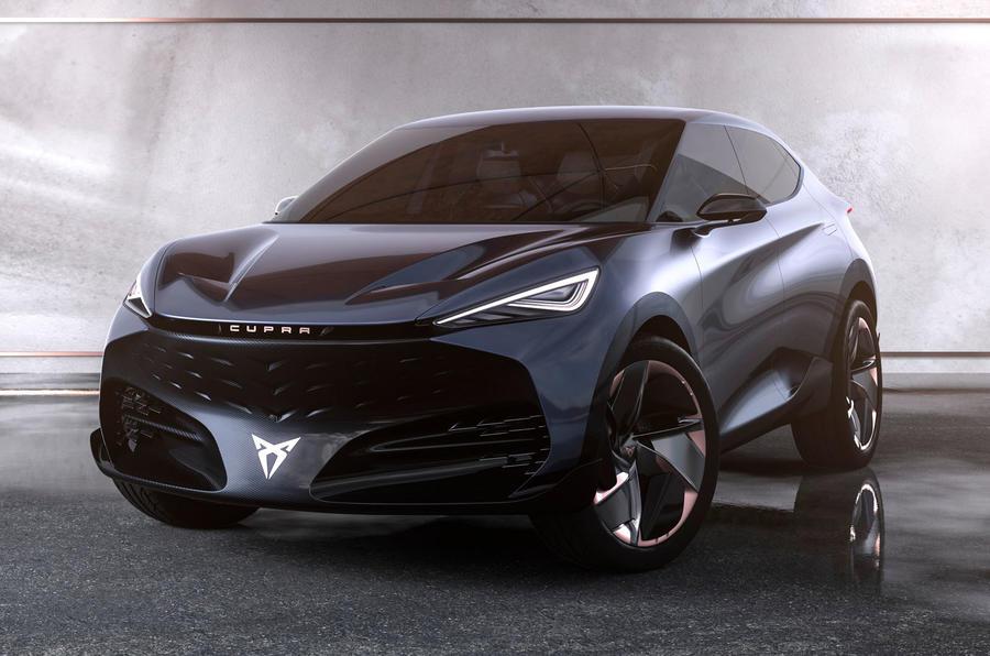 2019 Cupra Tavascan concept - static angle
