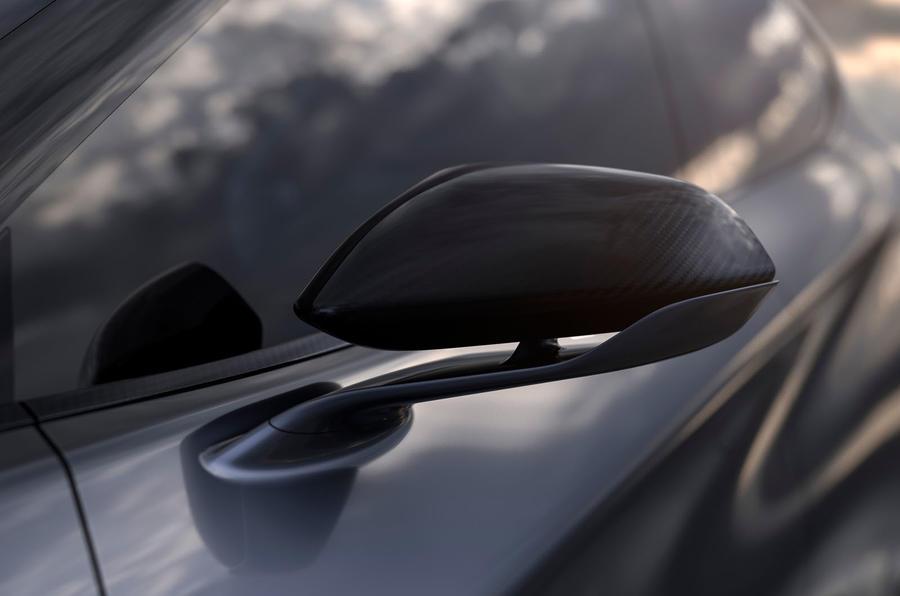 2019 Cupra Tavascan concept - wing mirror