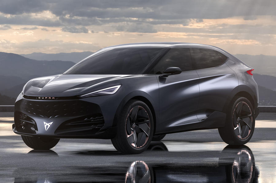 2019 Cupra Tavascan concept - static front