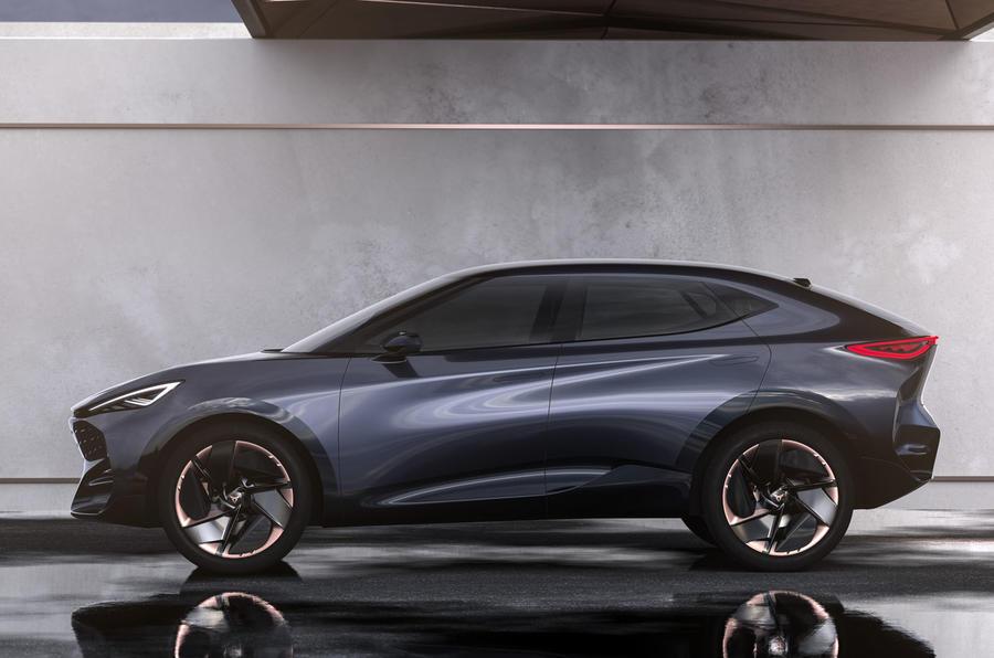 2019 Cupra Tavascan concept - static side