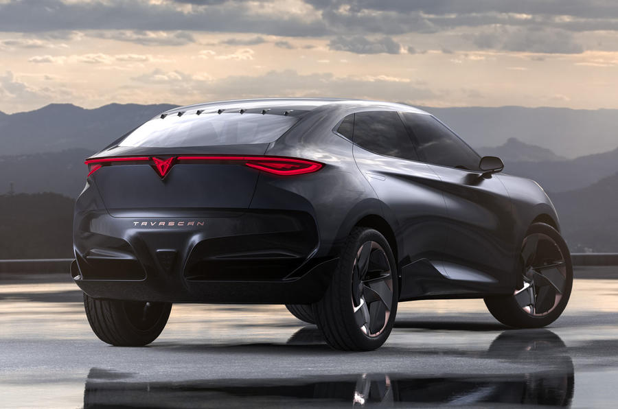 2019 Cupra Tavascan concept - static rear