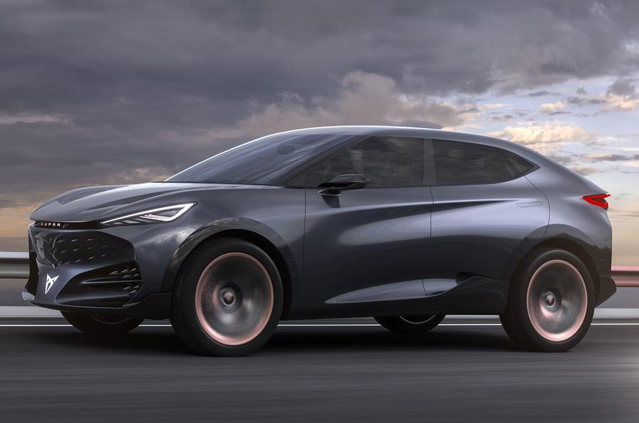 2019 Cupra Tavascan concept - hero front