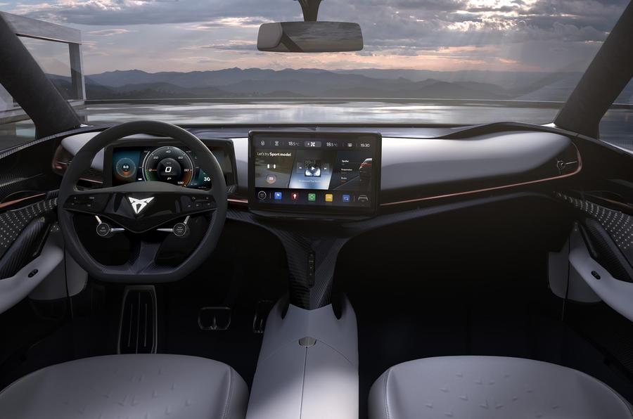 2019 Cupra Tavascan concept - dashboard