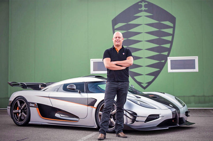 Christian von Koenigsegg and the One hypercar