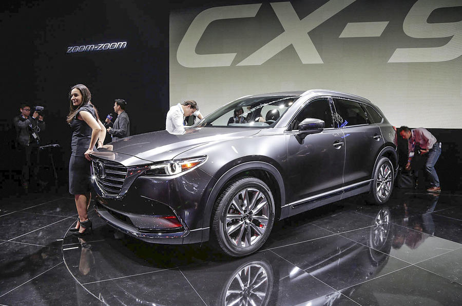 New Mazda CX 9 Crossover Previews Next Generation Of Products
