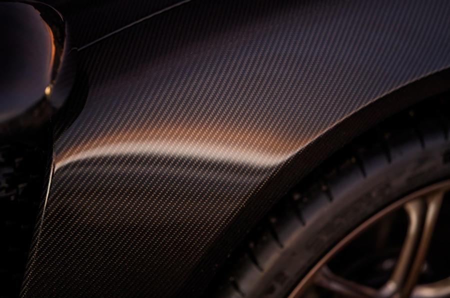 Czinger 21C hypercar teaser - carbon fibre bodywork