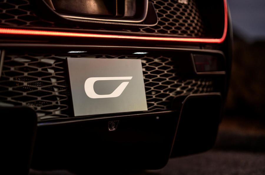 Czinger 21C hypercar teaser - rear end