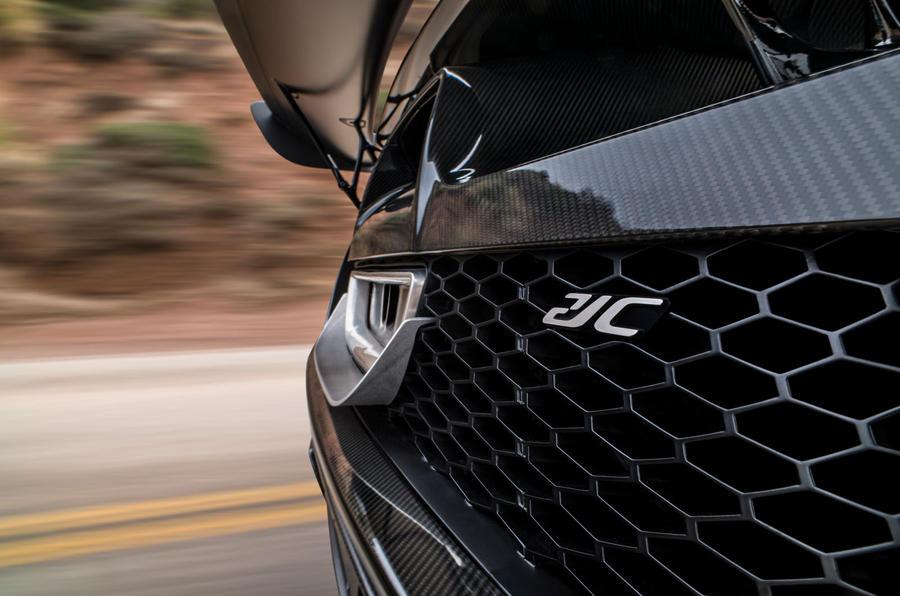 Czinger 21C hypercar teaser - hybrid engine