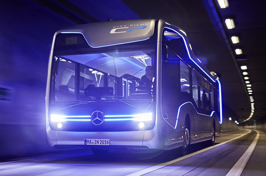 Mercedes Future Bus Concept Revealed Autocar