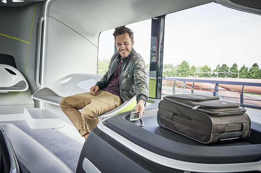 Mercedes Future Bus Concept Revealed Autocar
