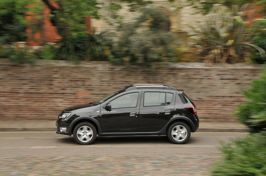 Dacia Sandero Stepway LPG on the road