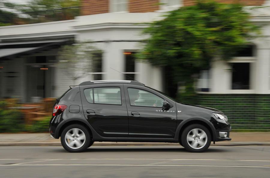Dacia Sandero Stepway LPG side profile