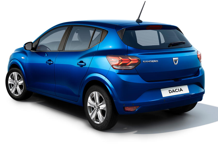 Dacia Sandero 2021 official images - Sandero rear