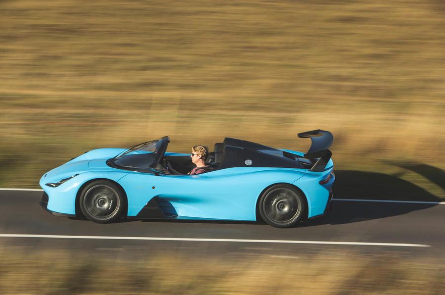 Dallara Stradale 2019 UK first drive review - hero side