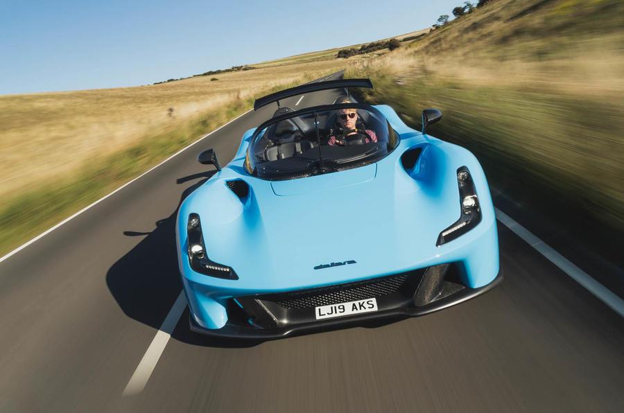 Dallara Stradale 2019 UK first drive review - hero front
