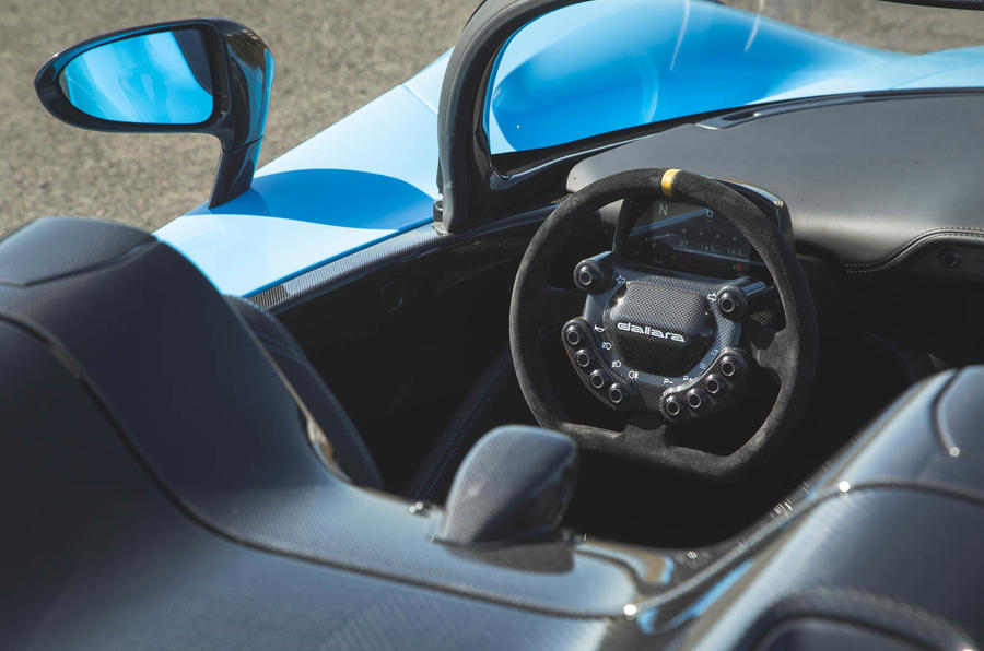 Dallara Stradale 2019 UK first drive review - cockpit