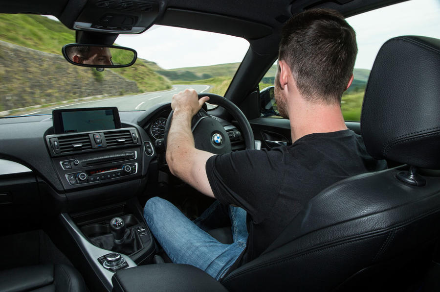 Dan Prosser driving the used BMW M135i