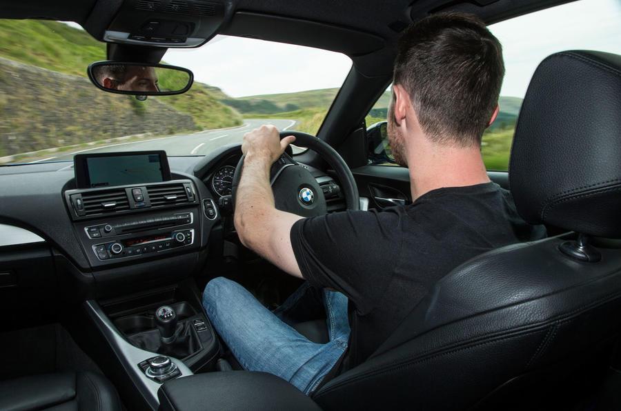 Dan Prosser driving the used BMW M135i