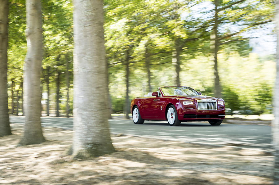 4.5 star Rolls-Royce Dawn