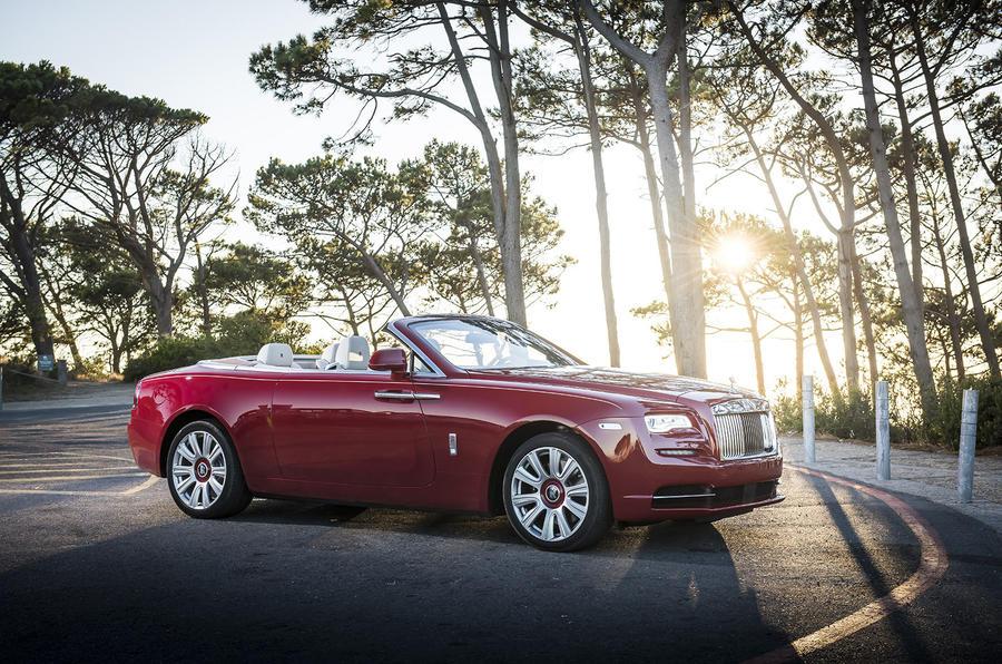 Rolls-Royce Dawn side profile