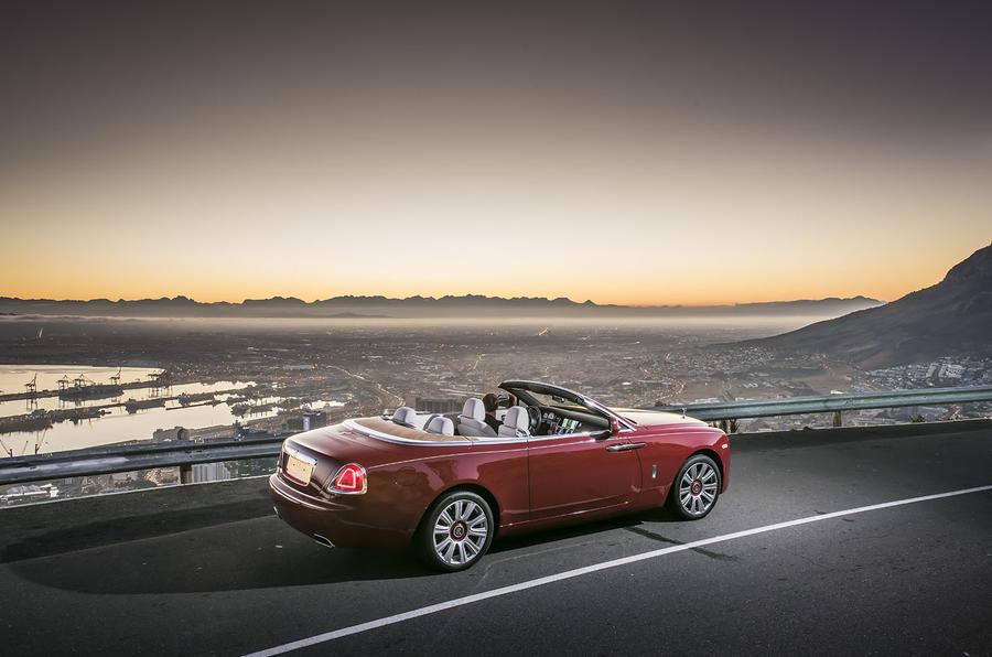 £250,000 Rolls-Royce Dawn