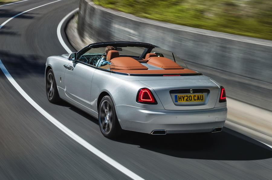 2020 Rolls-Royce Dawn Silver Bullet
